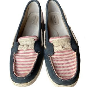 Sperry Topsider Boat Shoes American Flag Patriotic